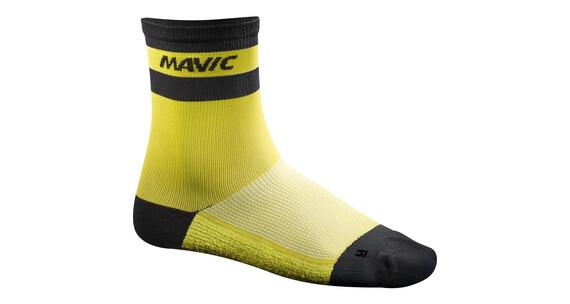 Mavic Ksyrium Carbon Fietssokken geel